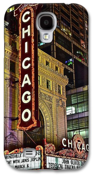 Chicago Theater Aglow Galaxy S4 Case