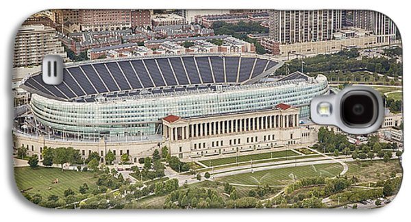 Chicago's Soldier Field Aerial Galaxy S4 Case by Adam Romanowicz