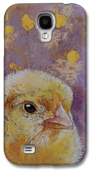 Chick Galaxy S4 Case by Michael Creese