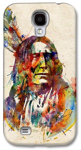 Chief Mojo Watercolor Galaxy S4 Case