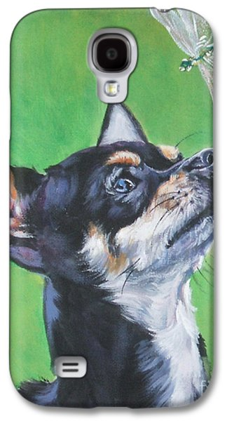 Chihuahua With Dragonfly Galaxy S4 Case