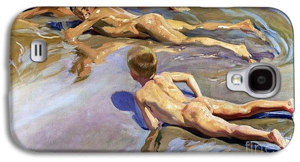 Children On The Beach Galaxy S4 Case