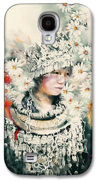 chinese girl 178 IV Galaxy S4 Case by Mawra Tahreem