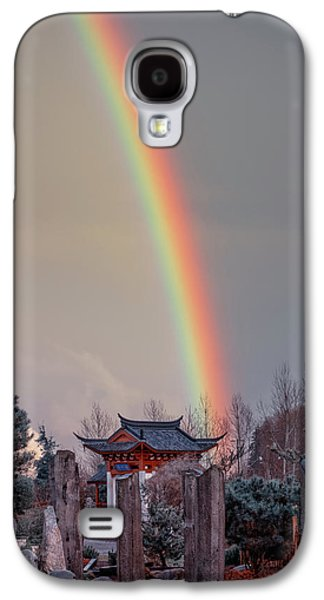 Chinese Reconciliation Park Rainbow Galaxy S4 Case