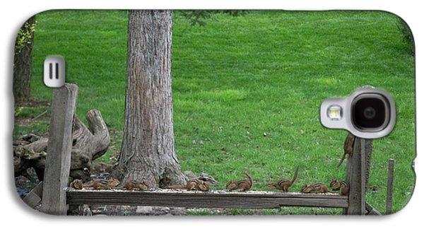 Chipmunks Gorging Themselves Galaxy S4 Case