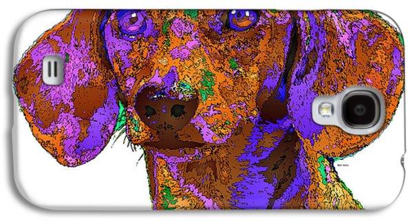 Chloe. Pet Series Galaxy S4 Case by Rafael Salazar