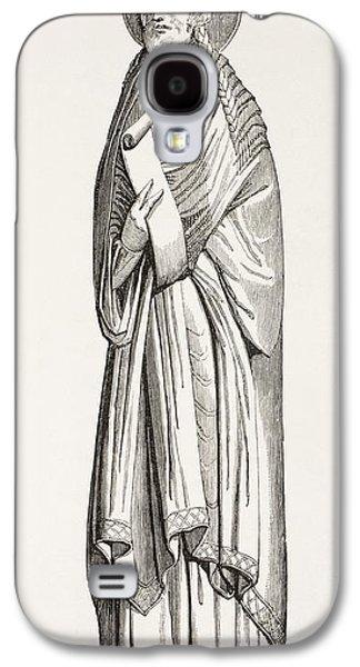 Chlothar I, Or Clotaire, Born C. 497 Galaxy S4 Case by Vintage Design Pics