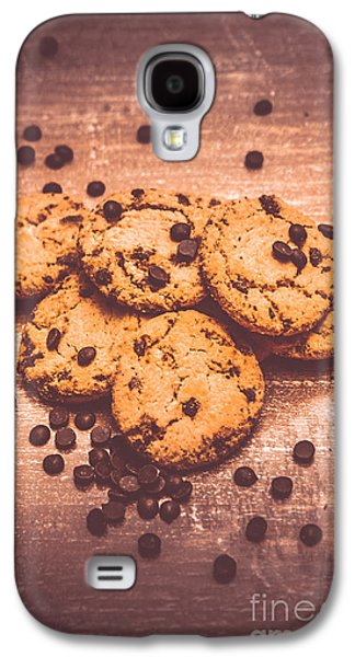 Choc Chip Biscuits Galaxy S4 Case