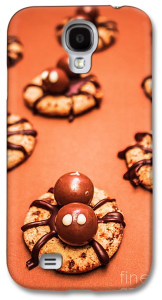Chocolate Peanut Butter Spider Cookies Galaxy S4 Case by Jorgo Photography - Wall Art Gallery