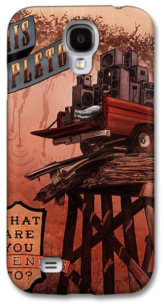 Chris Stapleton Poster Galaxy S4 Case by Ethan Harris