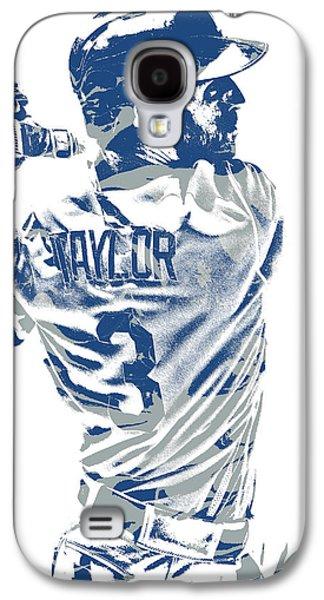 Chris Taylor Los Angeles Dodgers Pixel Art 5 Galaxy S4 Case