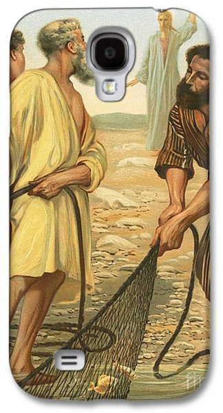 Christ Calling The Disciples Galaxy S4 Case by Philip Richard Morris