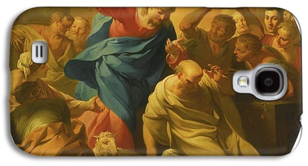 Christ Driving The Money Lenders Galaxy S4 Case by MotionAge Designs