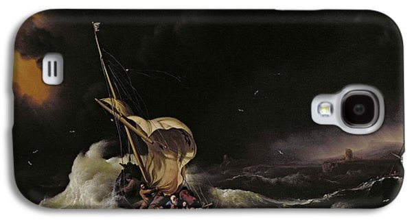 Christ In The Storm On The Sea Of Galilee Galaxy S4 Case