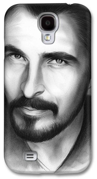Christian Bale Galaxy S4 Case by Greg Joens