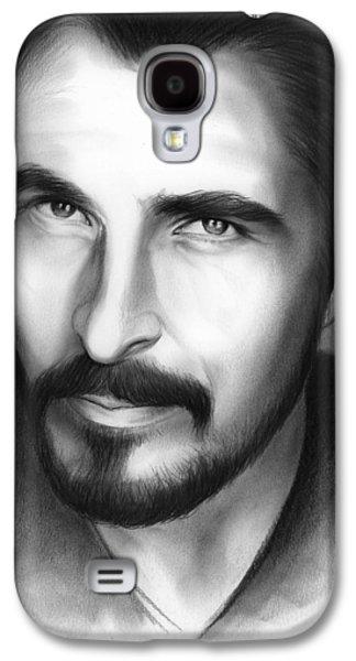 Christian Bale Galaxy S4 Case