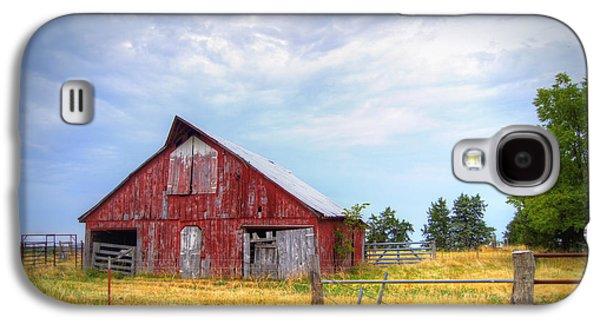Christian School Road Barn Galaxy S4 Case