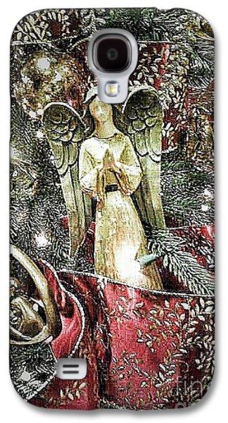 Christmas Angel Greeting Galaxy S4 Case