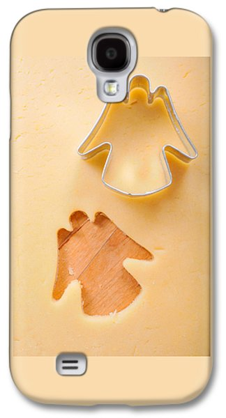 Christmas Cookie Angel Shape Galaxy S4 Case