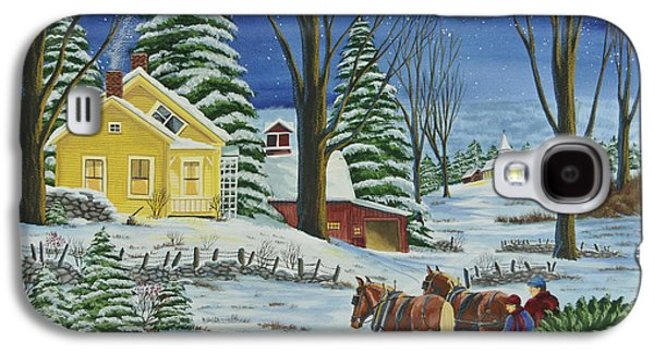 Christmas Eve In The Country Galaxy S4 Case