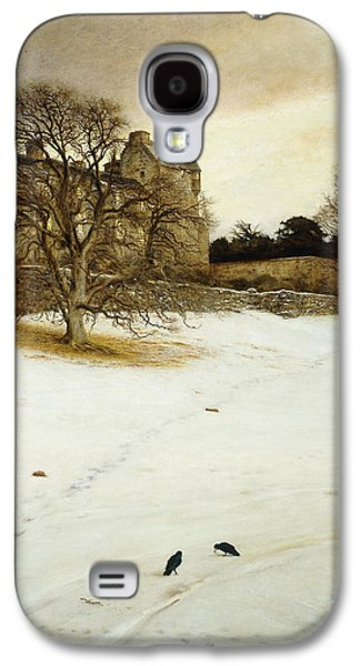 Christmas Eve Galaxy S4 Case by John Everett Millais