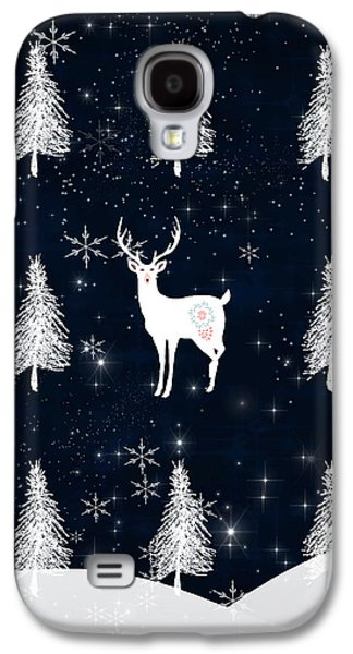 Christmas Eve Stag Galaxy S4 Case