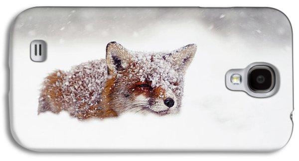 Christmas Fox Galaxy S4 Case