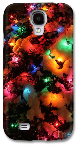Christmas Lights Coldplay Galaxy S4 Case
