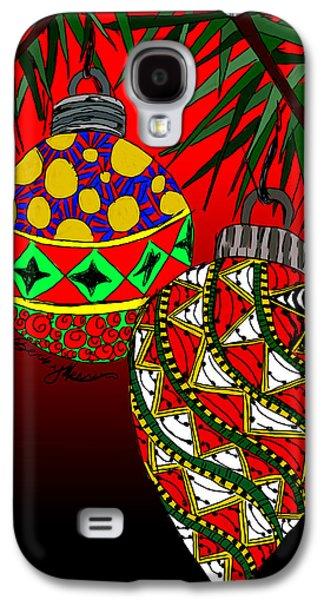 Christmas Ornaments Galaxy S4 Case