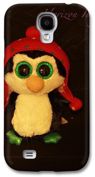 Christmas Penguin Galaxy S4 Case by John Strapp
