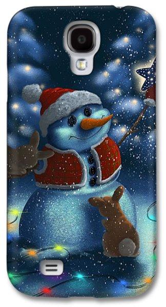 Christmas Season Galaxy S4 Case by Veronica Minozzi