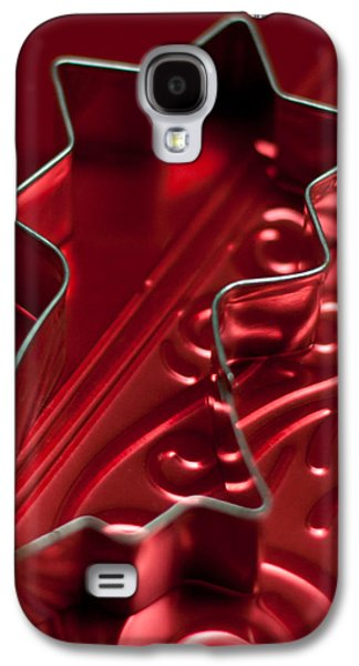Christmas Star No Text  Galaxy S4 Case by Maggie Terlecki