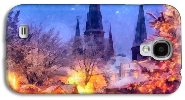 Christmas Town Galaxy S4 Case by Esoterica Art Agency