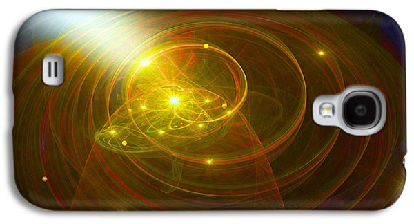 Christopher's Vision Of Golden Light Galaxy S4 Case by Michael Durst