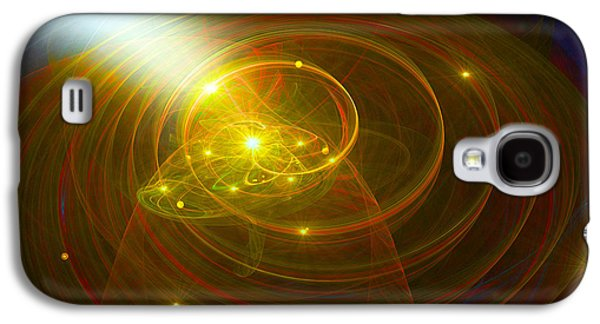 Christopher's Vision Of Golden Light Galaxy S4 Case