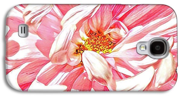 Chrysanthemum In Pink Galaxy S4 Case by Shadia Derbyshire