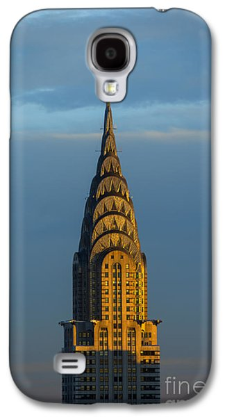 City Sunset Galaxy S4 Case - Chrysler Building In The Evening Light by Diane Diederich