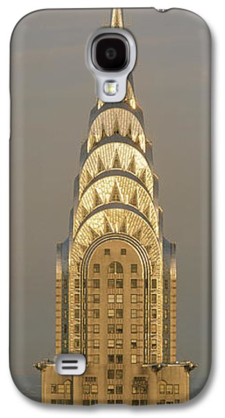 Stainless Steel Galaxy S4 Case - Chrysler Building New York Ny by Panoramic Images