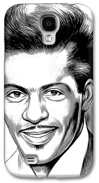 Rock And Roll Galaxy S4 Case - Chuck Berry 2 by Greg Joens