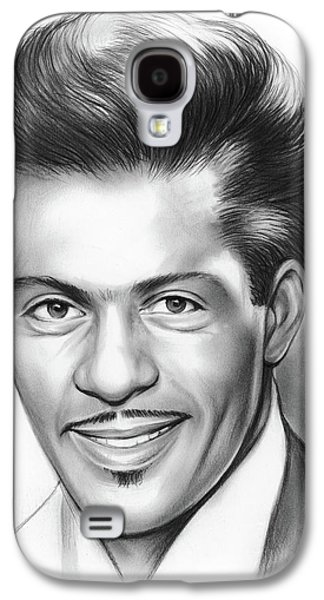 Rock And Roll Galaxy S4 Case - Chuck Berry by Greg Joens