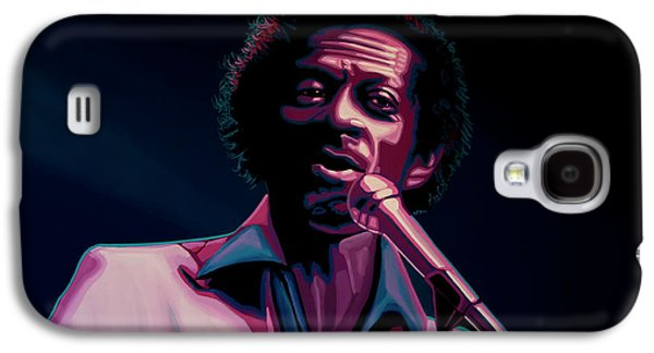 Rhythm And Blues Galaxy S4 Case - Chuck Berry by Paul Meijering