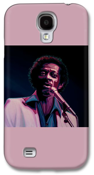 Chuck Berry Galaxy S4 Case by Paul Meijering