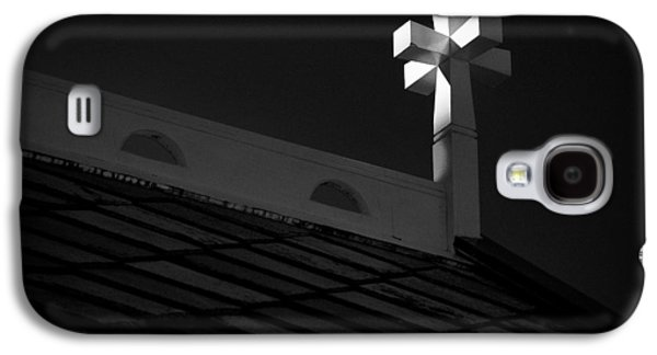 Crosses Photographs Galaxy S4 Cases - Church Cross Galaxy S4 Case by Dave Bowman