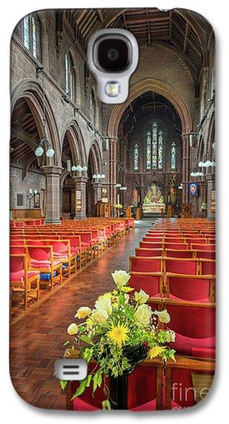 Church Flowers Galaxy S4 Case by Adrian Evans