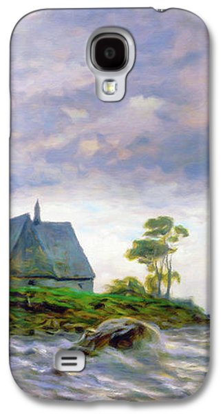 Church House By The Sea Galaxy S4 Case