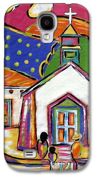 Church In Blanco Galaxy S4 Case
