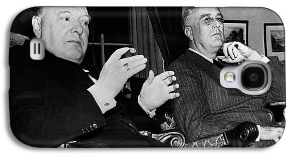 Churchill & Roosevelt Galaxy S4 Case by Granger