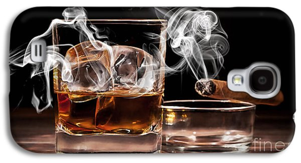 Cigar And Alcohol Collection Galaxy S4 Case by Marvin Blaine