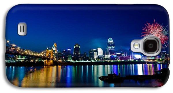 Cincinnati Boom Galaxy S4 Case by Keith Allen