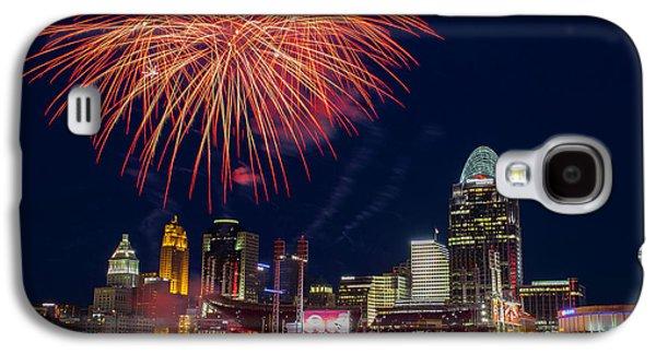 Cincinnati Fireworks Galaxy S4 Case